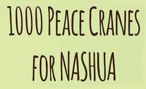 1000 peace cranes